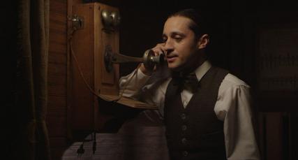 walt on phone